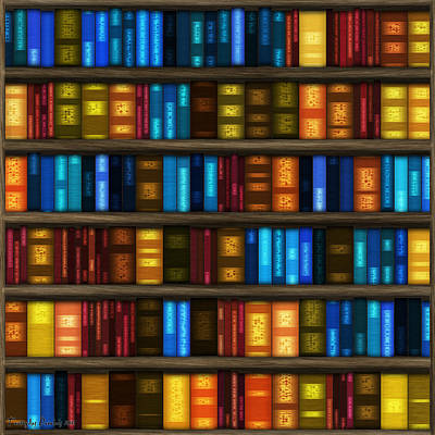 Last Bookseller's Life Story. Art Print by Tautvydas Davainis
