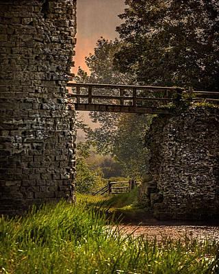Photograph - Last Bridge To Minas Tirith  by Chris Lord