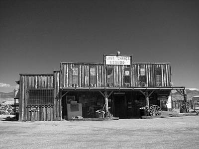Holmberg Photograph - Last Chance Liquor by Norm Holmberg