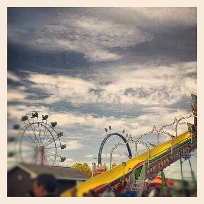 Skylines Wall Art - Photograph - Last Day Of The Fair by Bryan P