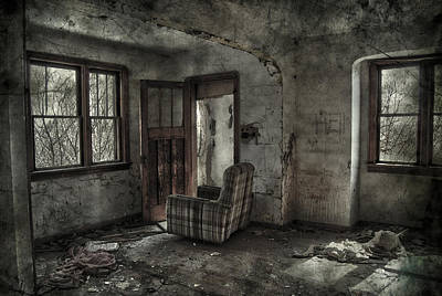 Abandoned House Photograph - Last Days  by Jerry Cordeiro