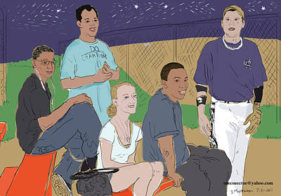 Last Game Of The Season 2011 Original by Susie Morrison