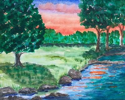 Last Light Art Print by Jeanette Stewart