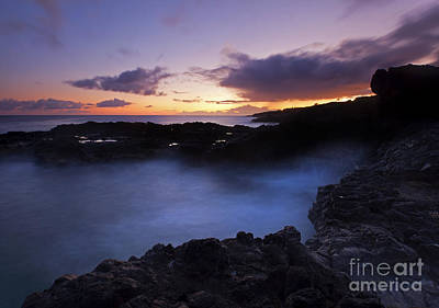 Last Light Over The South Shore Art Print by Mike  Dawson