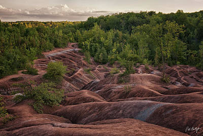 Cheltenham Photograph - Last Look At The Badlands by Phill Doherty