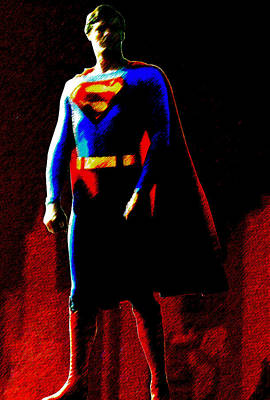 Digital Art - Last Son Of Krypton by Saad Hasnain