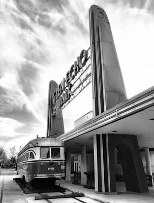 Glen Echo Park Photograph - Last Stop by Steven Ainsworth