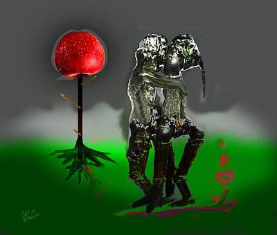 Mohammad Digital Art - Last Time In Paradise by MBL Binlamin