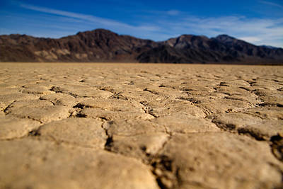Photograph - Last View From Death Valley by Jean Noren