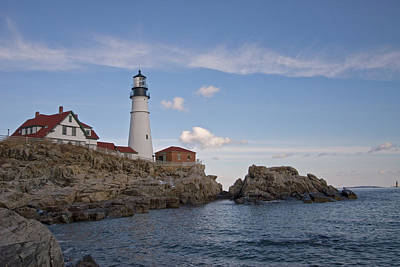 Photograph - Late Afternoon At Portland Head Light by Paul Mangold