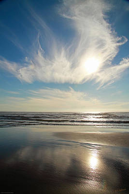 Photograph - Late Afternoon On An Oregon Beach by Mick Anderson