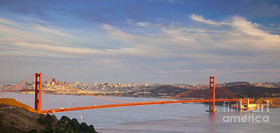 Photograph - Late Evening Over San Francisco by Brian Jannsen