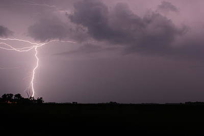 Late Night Storm Original by Bryan Noll