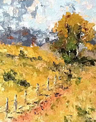 Painting - Late Summer Afternoon by Sylvia Miller