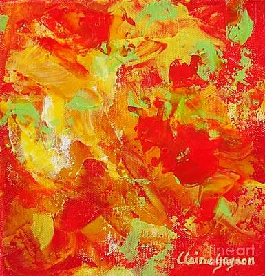 Painting - Latin Rythym by Claire Gagnon