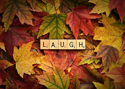 Photograph - Laugh-autumn by  Onyonet  Photo Studios