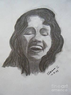 Joyful Drawing - Laugh Yourself Silly by Tatiana Baze