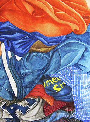 Painting - Laundry No1 by Mic DBernardo