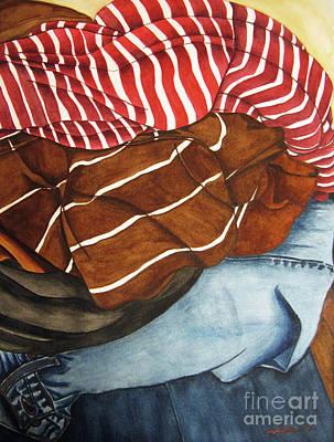Painting - Laundry No3 by Mic DBernardo