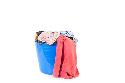 Dirty Linen Photograph - Laundry by Tom Gowanlock