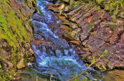 Photograph - Laurel Creek Cascade by Tom Culver