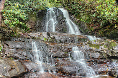 Art Print featuring the photograph Laurel Falls by Peter Ciro