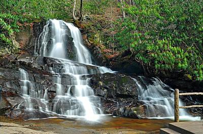 Laurel Falls Tn Original by Michael Austin