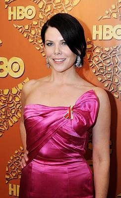 Lauren Graham At The After-party Art Print by Everett
