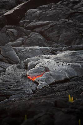 Lava Print by Ralf Kaiser