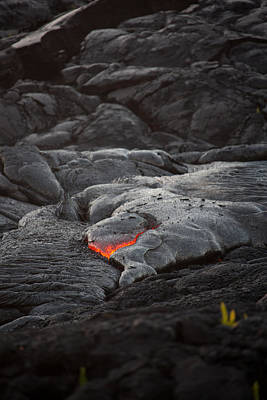 Lava Art Print by Ralf Kaiser