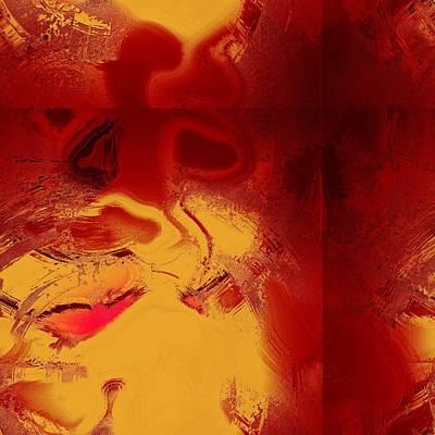 Lava Art Print by Yanni Theodorou
