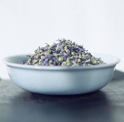 Potpourri Photograph - Lavender Blooms In A Bowl by Cristina Pedrazzini