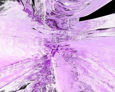 Miraculous Digital Art - Lavender Essence by John Pirillo
