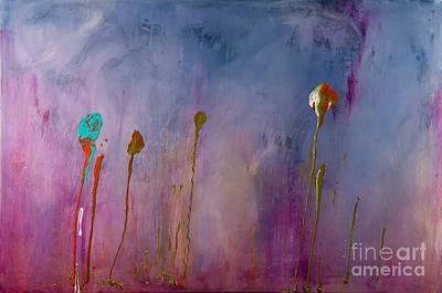 Painting - Lavender Field by Laura Warburton