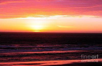 Photograph - Lavender Horizon by Erica Hanel