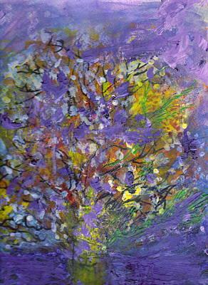 Lavender Memories Art Print by Anne-Elizabeth Whiteway