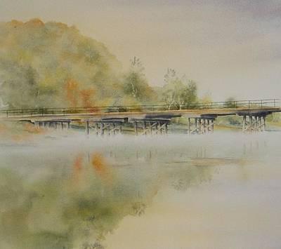 Lavenders Bridge - Bellingen Art Print