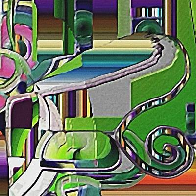 Digital Art - Lawn by Dave Kwinter