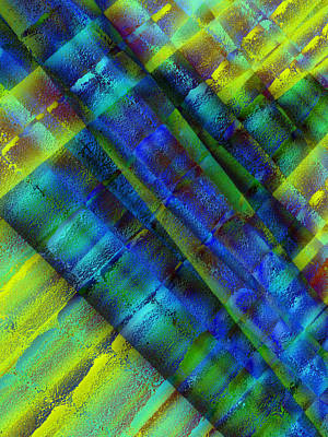 Art Print featuring the photograph Layers Of Blue by David Pantuso