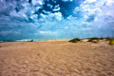 Sand Dunes Digital Art - Lazy Day by Betsy Knapp