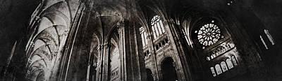 Le Arch  Art Print by Torgeir Ensrud