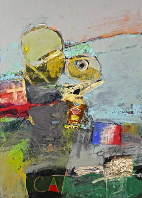 Painting - Le Chat by Cliff Spohn