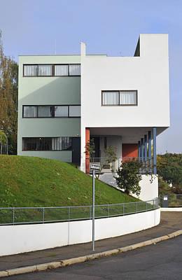 Photograph - Le Corbusier Building Stuttgart Weissenhof by Matthias Hauser