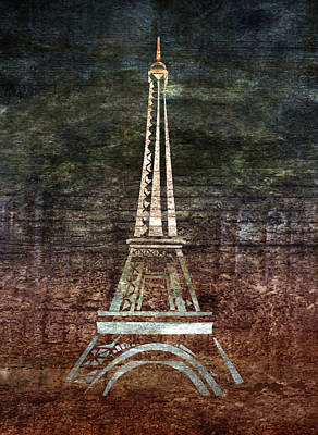 Le Eiffel Art Print by Lauren Goia