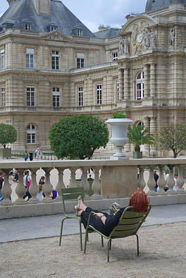 Palais Du Luxembourg Wall Art - Photograph - Le Luxembourg by Steven Richman