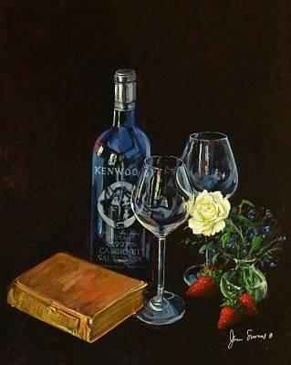 Le Miserables Painting - Le Miserable by James Scrivano