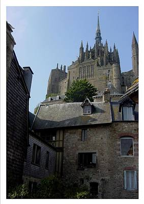 Photograph - Le Mont-michel by Frank Wickham