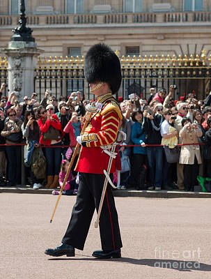 Buckingham Palace Photograph - Lead Guardsman by Andrew  Michael