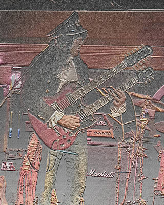 Photograph - Lead Guitar by Joseph G Holland