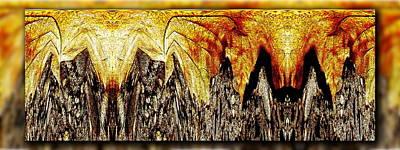 Leaf Meld Art Print by Tim Allen